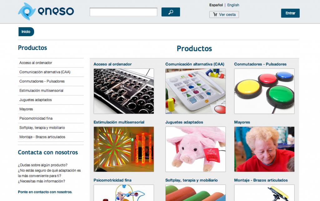 Nueva web eneso.es