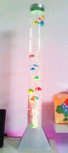 mini tubo de burbujas Estimulacion sensorial eneso