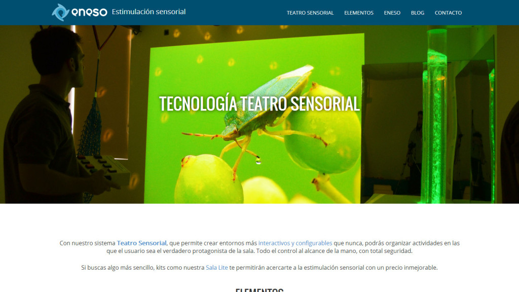 www.estimulacionsensorial.es. Una web sobre estimulación sensorial