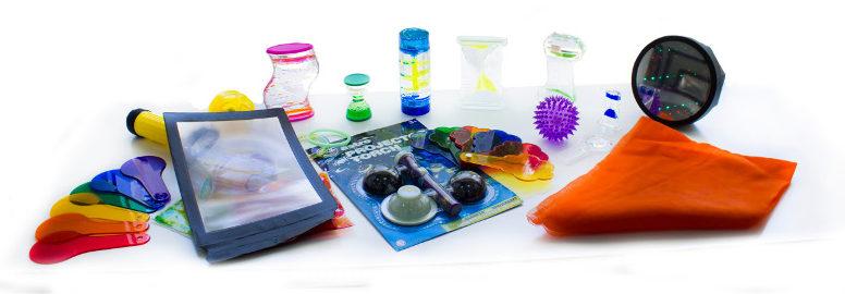 Kits de estimulación visual