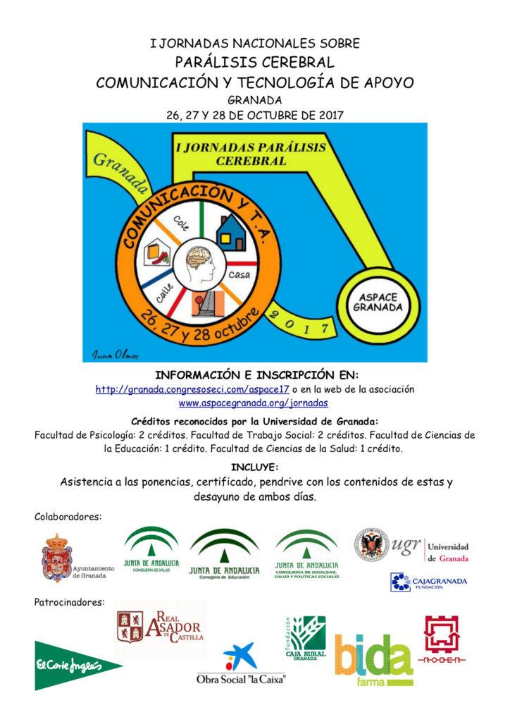I Jornadas Nacionales de Parálisis Cerebral, Comunicación y Tecnologías de Apoyo