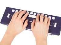 Líneas y teclados Braille