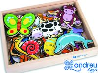 Conjunto de animales mágneticos - Surtido de 20 animales magnéticos