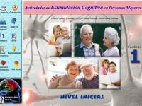 Estimulación cognitiva en personas mayores. Nivel inicial - Cuaderno de ejercicios de estimulación y mantenimiento. Nivel 1