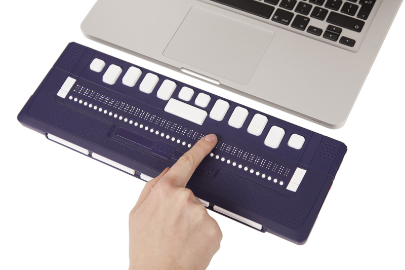 ALVA 640 Comfort - Bluetooth Braille reader and keyboard