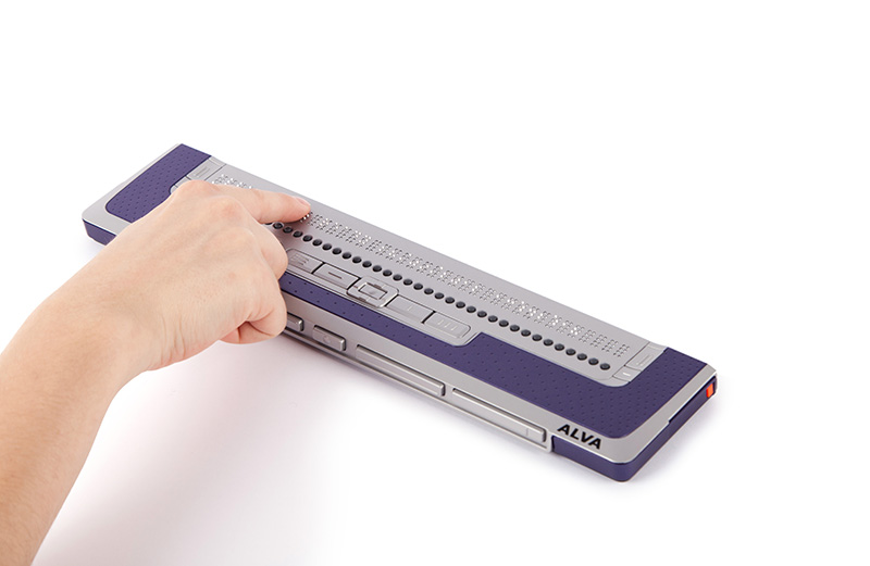ALVA BC640 - Bluetooth Braille reader and keyboard with 40 cells