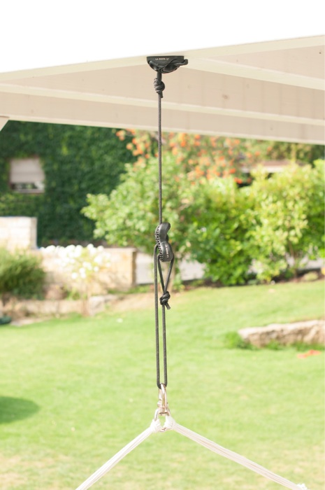 Ceiling fixing system for swings - Easy to install