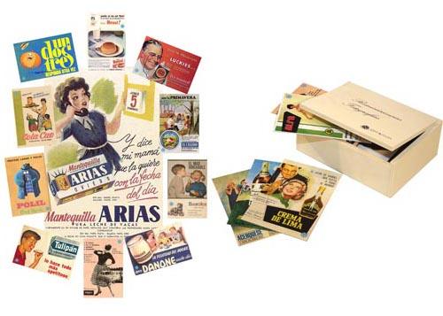 Anuncios años 60 - Conjunto de fotografías para trabajar las reminiscencias