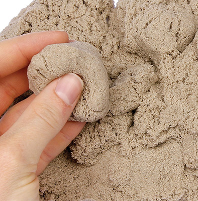 Kinetic sand - A unique texture and feel