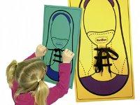 ¡Átame! Zapato gigante - Aprende a atarte los zapatos