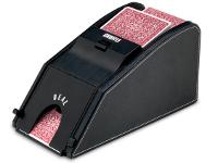 Barajador repartidor de cartas - Baraja y dispensa las cartas automáticamente