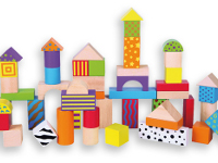 50 bloques de madera - Arquitectura de piezas de madera