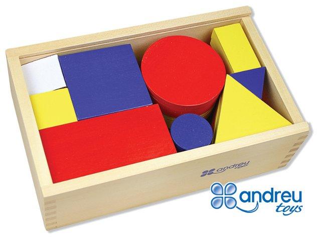 Bloques lógicos - 48 piezas con diferentes formas y tamaños