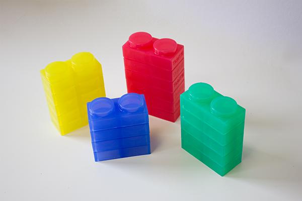 Silishapes soft bricks - 24 silicon building bricks