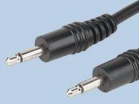 Cable jack 3,5mm a jack 3,5mm mono - 1,2m - Conecta dos dispositivos adaptados para conmutador