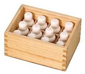 Caja de 12 esencias en polvo - Desprenden olor al ser abiertas