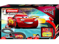 Pista carreras Cars First adaptada - Con mandos adaptados para uno o dos pulsadores