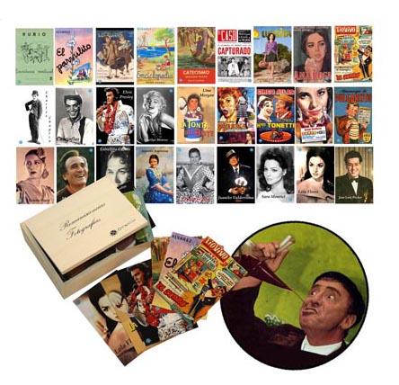Celebridades y prensa años 60 - Conjunto de fotografías para trabajar las reminiscencias