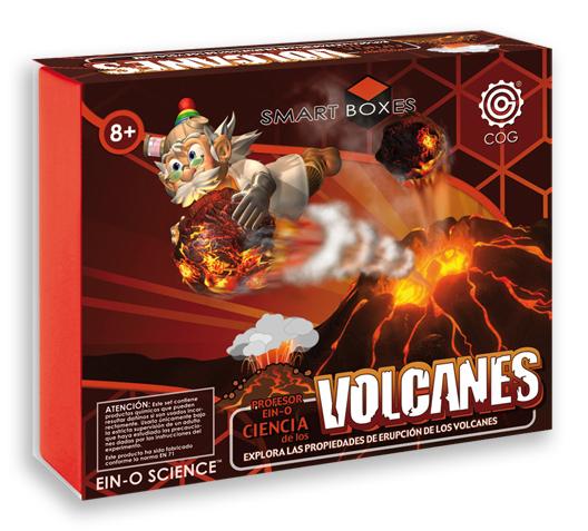 Ciencia de los volcanes - Explora las propiedades de erupción de los volcanes con estos magníficos experimentos