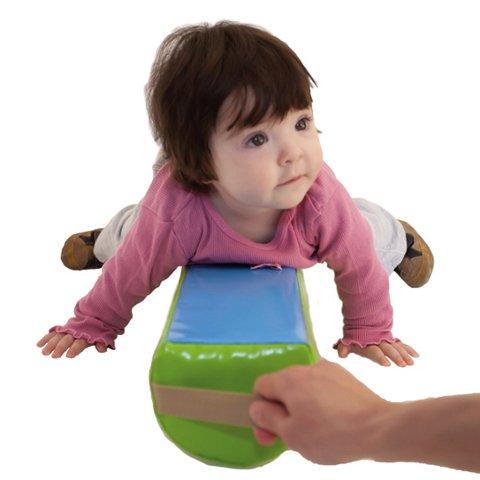 Cilindro gateo - Ayudar a los niños a aprender a gatear