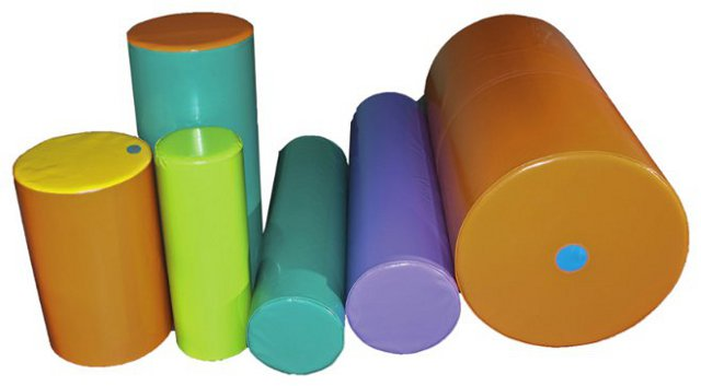 Cylinder of 30 x 120 cm - 120 cm therapy cylinder