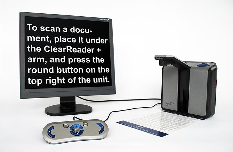 ClearReader+ Advanced - Amplifica el texto de un libro o revista y lo lee con voz natural
