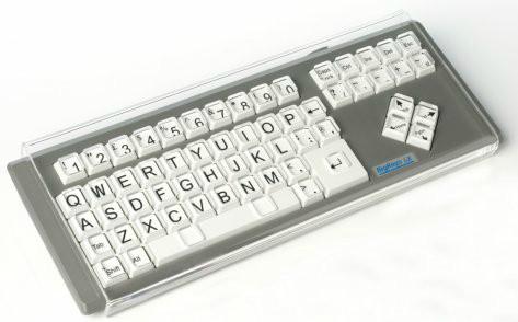Cobertor para BigKeys LX - Cobertor de metacrilato para el teclado BigKeys
