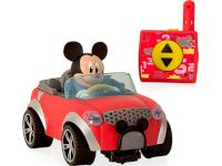 Coche teledirigido de Mickey adaptado - Sencillo mando de dos botones adaptado para dos conmutador