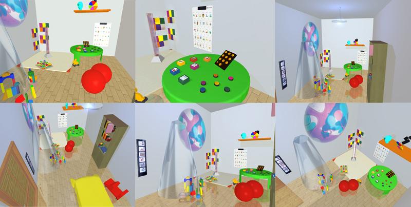 Habitación CODEEX - Espacio para la COmunicación, DEsarrollo y EXperimentación.