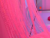 Cascada de fibra óptica Sense - Cortina con 200 fibras de 3m