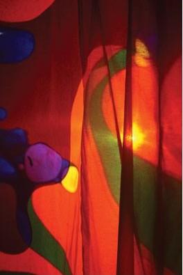 Cortina de proyección - Cortina de 2,44 x 2,13 m para proyectores