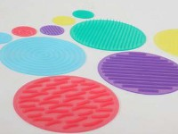 SiliShapes Sensory Circle Set - 10 textured circular disks