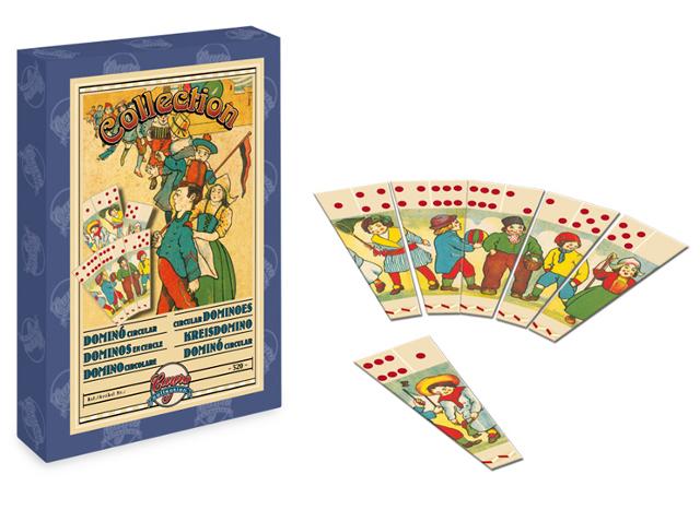 Dominó circular - Edición especial del clásico dominó