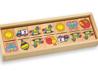 Domino etcétera  - 28 piezas.