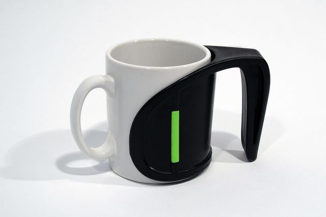 Asa adaptable Duo - Añade un asa extra a tu vaso, taza o botella