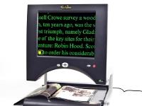 Eclipse Touch - Lupa portátil y de sobremesa de uso sencillo y pantalla táctil