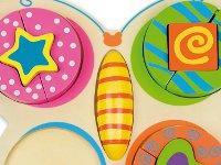 Encaje mariposa - Encaje de madera con multiples colores
