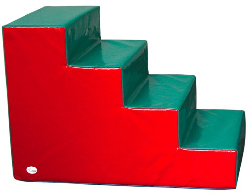 Escalera de 4 peldaños - Escalera de 100 x 60 x 68 cm