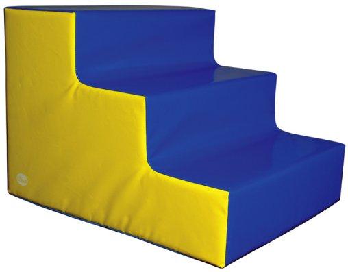 Escalera de 3 peldaños grande - Escalera de 75 x 60 x 50 cm