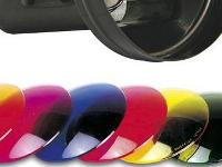Lente de color para foco PAR 36 - Filtros de colores para PAR 16