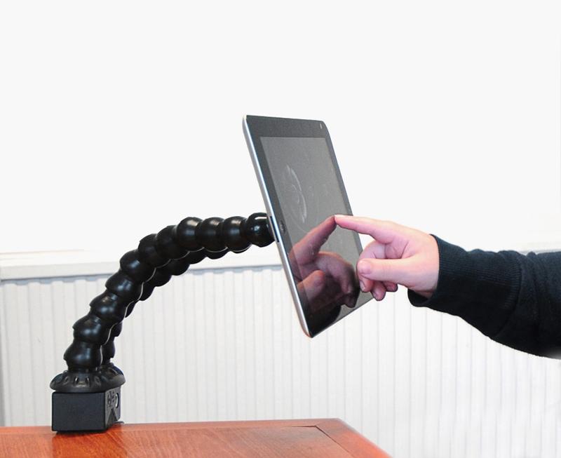 Flexzi 2 - Sistema de montaje para tablets, pulsadores o smartphones