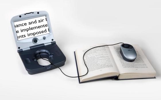 Fusion - Lupa electronica ideal para viajes o leer en la cama