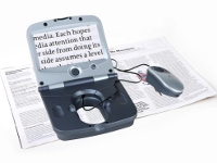 Fusion - Ideal magnifier for travelling or reading in bed