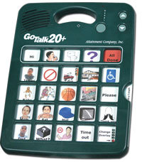 GoTalk 20+ - Communication board with 20 messages