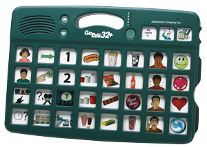 GoTalk 32+ - Communication board with 32 messages