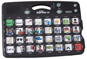 GoTalk Express 32 - Advanced communication board with 32 messages