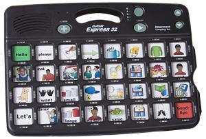 GoTalk Express 32 - Tablero de comunicación avanzado con 32 mensajes