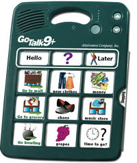 GoTalk 9+ - Communication board with 9 messages