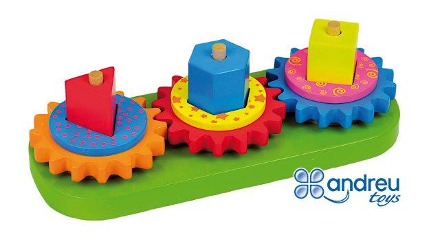 Gyro blocks - Ruedas con engranajes giratorios para trabajar la coordinación