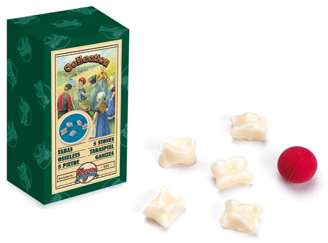 Las tabas - Reproducción vintage del juego de las tabas